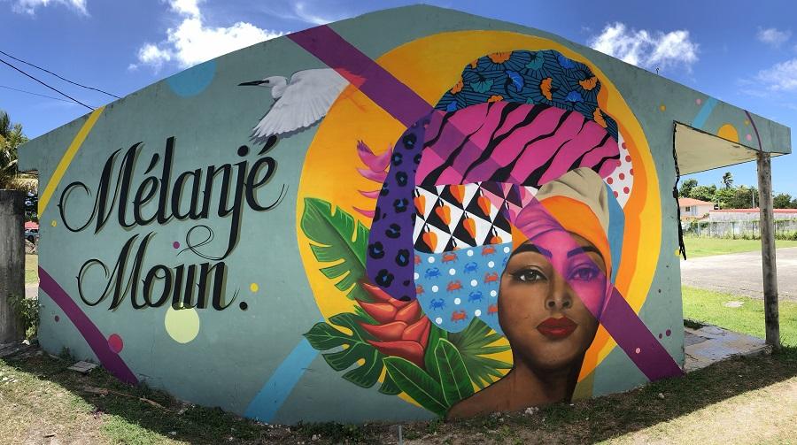 Fresque - YELOW - Guadeloupe