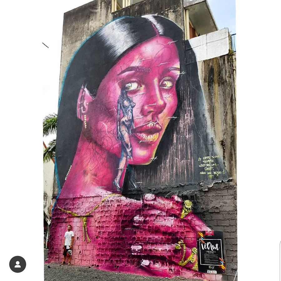 Fresque - Steek - Guadeloupe