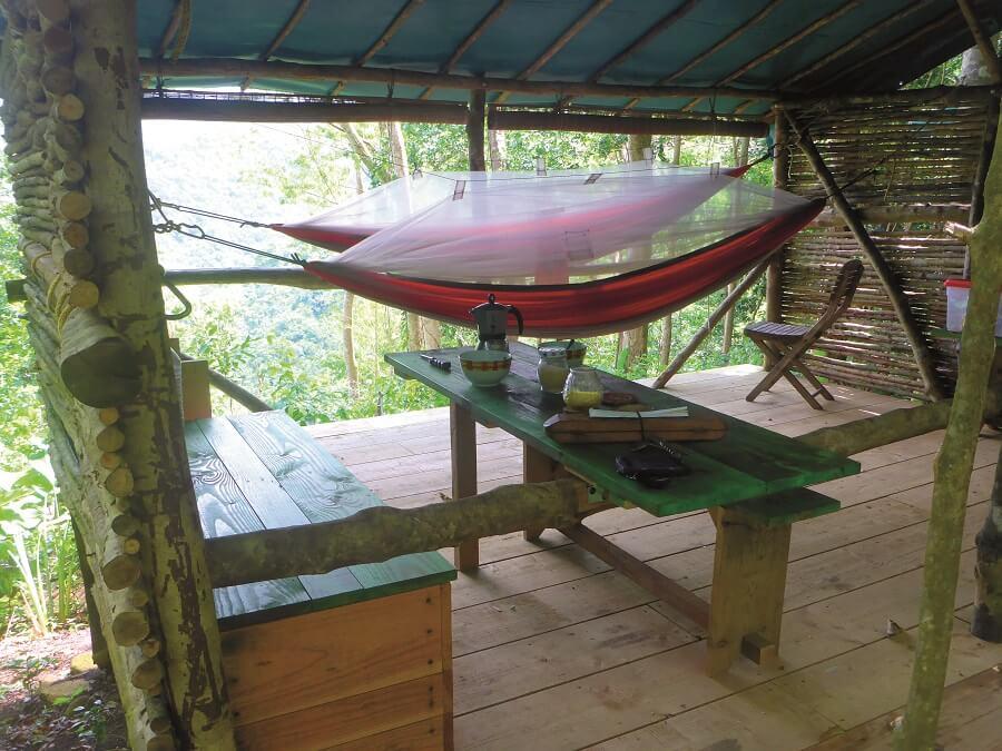 Hamac Camp Guadeloupe