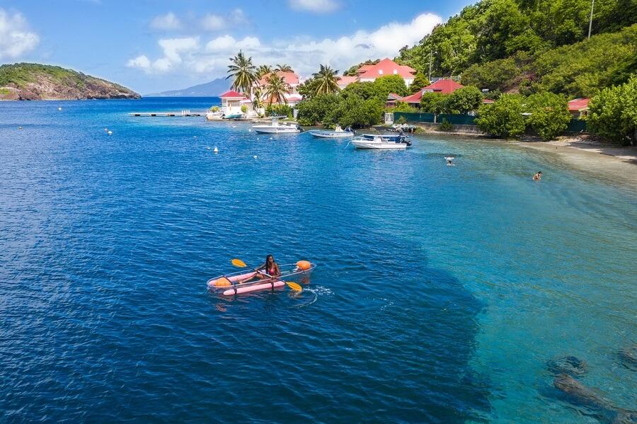 Kayak - Sud Basse Terre - Guadeloupe