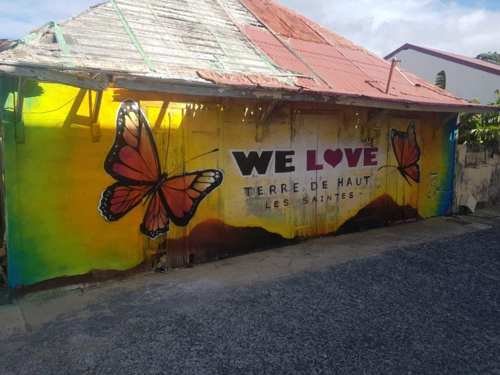 Fresque Sheik - We Love Les Saintes - Guadeloupe