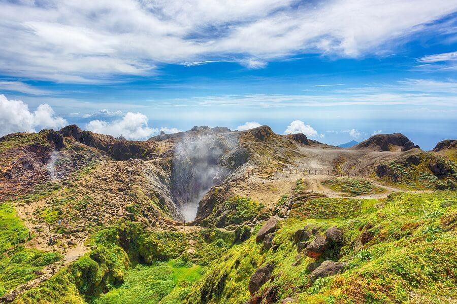 Randonnée Soufrière - Guadeloupe