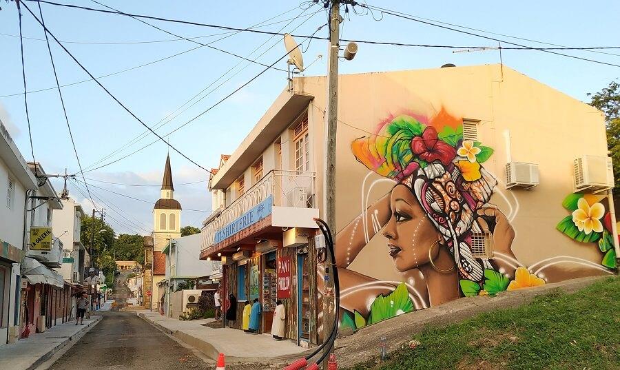 Fresque Fanm Peyi - Xän - Sainte-Anne