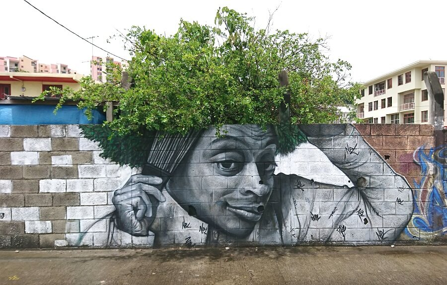 Fresque Spike Lee - Xän - Fort-de-France