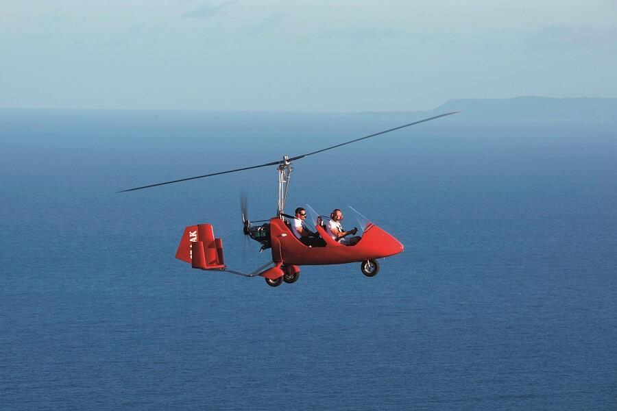 SXM Gyrocopter - Saint-Martin