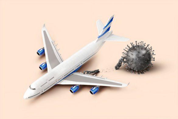 Voyages en avion avec le covid-19