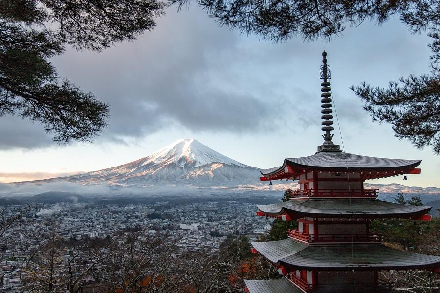 Mont Fuji - Unsplash