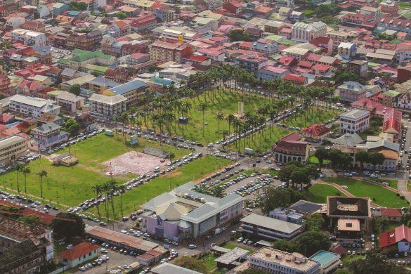Place des palmistes - Cayenne