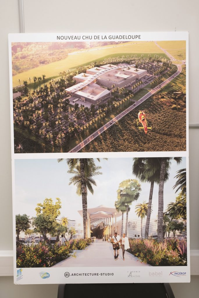 Modélisation CHU Guadeloupe 2023