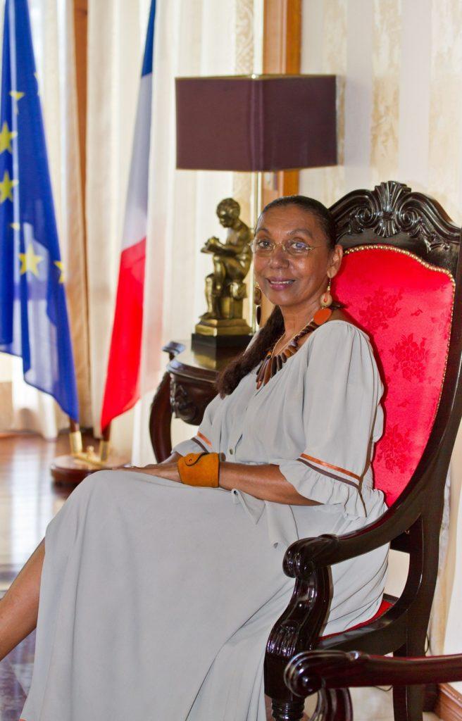 Brigitte Rodes - Conseil départemental Guadeloupe