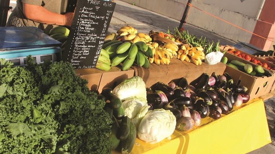 Fruits et légumes - marché Ka'Ba Péyi a - Martinique