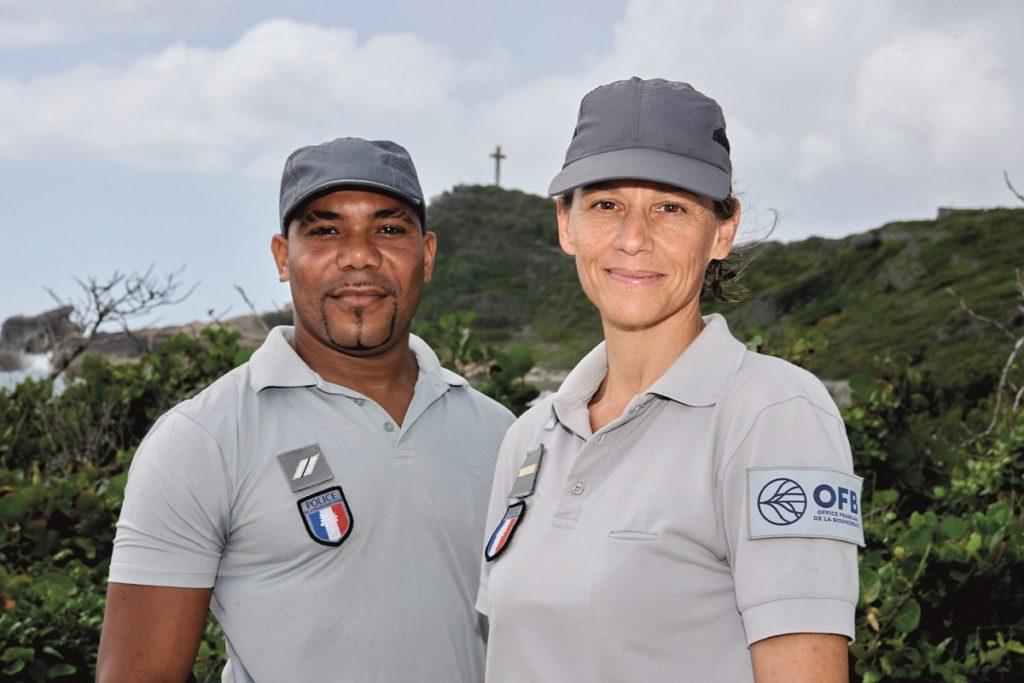 Agents Office Français de la Biodiversité en Guadeloupe