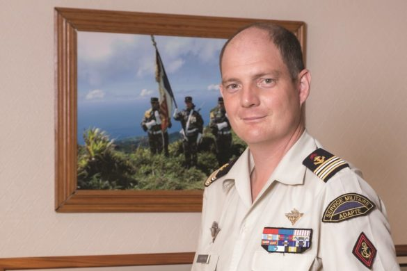 Arnaud Cherbonnel - Chef de corps - RSMA Martinique