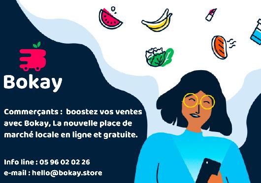 Bokay Store - place de marché digitale Antilles-Guyane