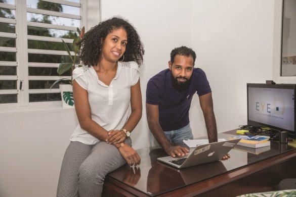 Elodie Eugenia-Charlotte et Yoann Saint-Louis - EYE Consulting - Martinique
