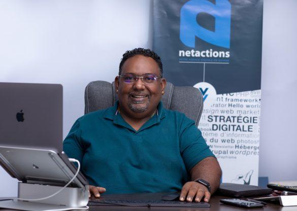 Paul Richard Vingadassalom - Agence digitale Netactions - Guyane
