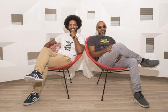 Saidou Bernabé et Yoane Pavadé - créateurs école Parallel 14