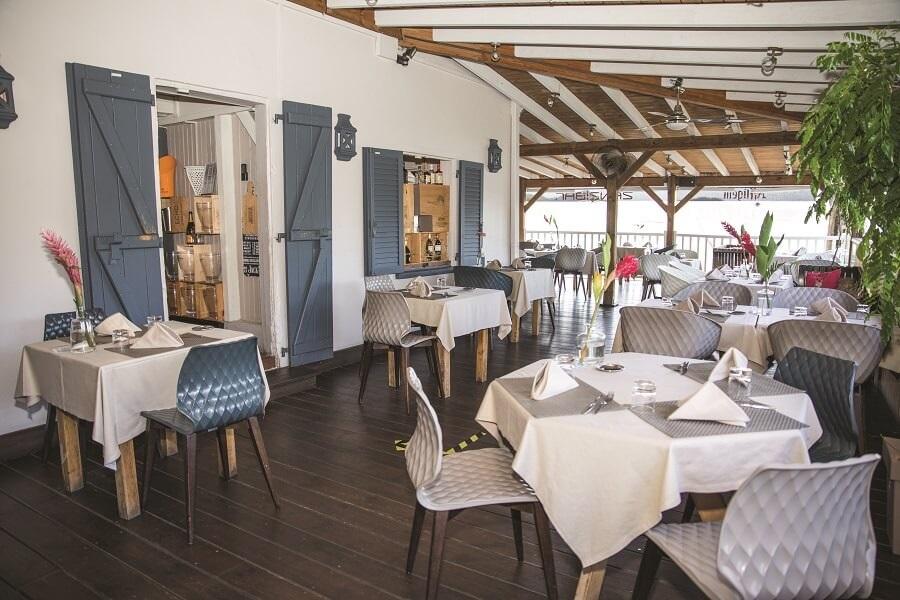Intérieur restaurant Zanzibar - Le Marin - Martinique