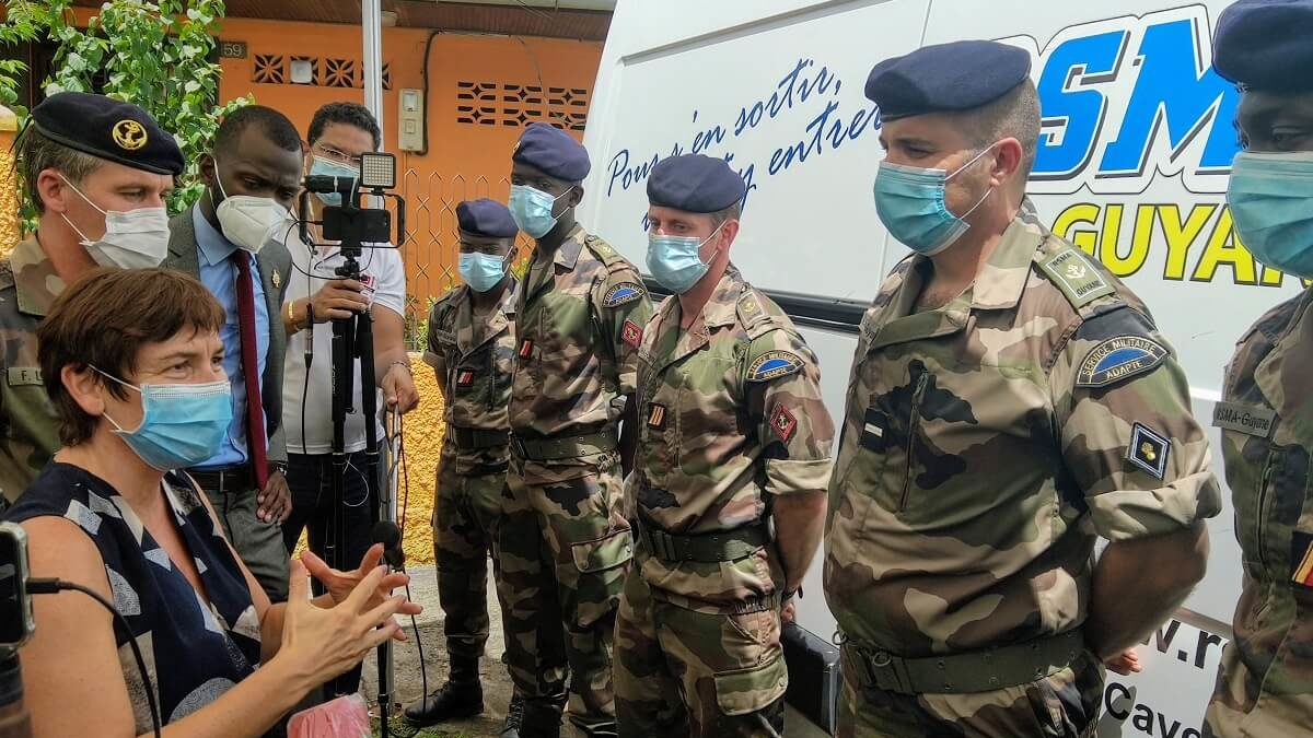 Opération Résilience : le RSMA Guyane à l'épreuve du virus