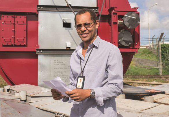 David Raphose - responsable arrêt métal 2020 - SARA Energies Nouvelles