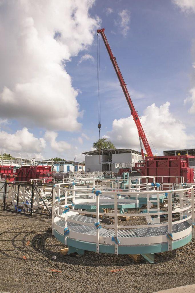 Matériel - arrêt métal SARA Energies Nouvelles