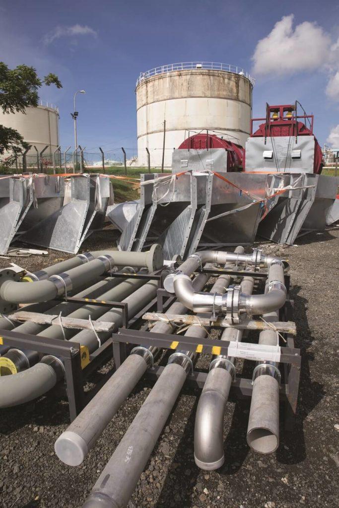 Matériel - raffinerie des Antilles-Guyane
