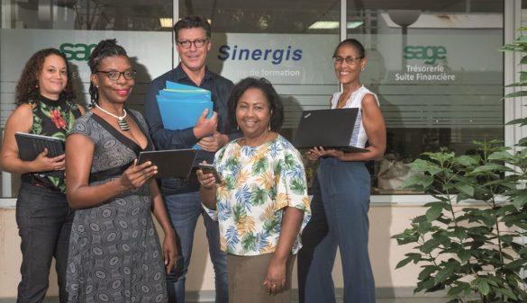 Equipe Sinergis - logiciels dématérialisation - Guadeloupe