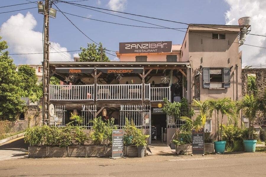 Restaurant Zanzibar - Le Marin - Martinique
