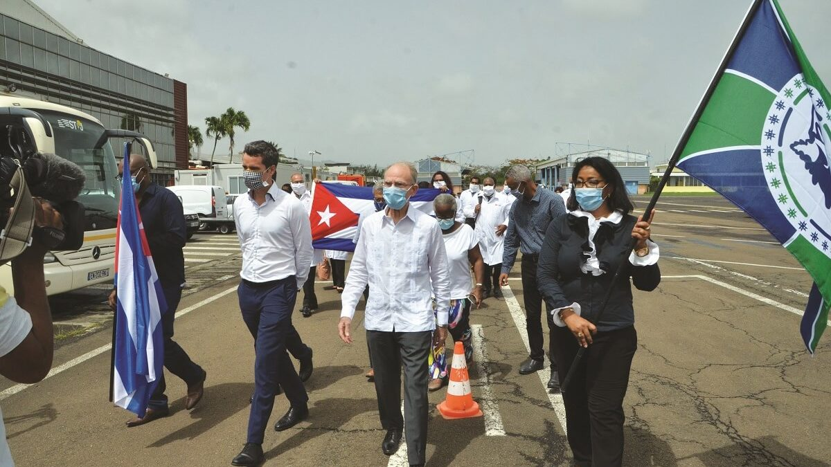 Treize médecins cubains et un grand pas pour la Coopération Régionale ?