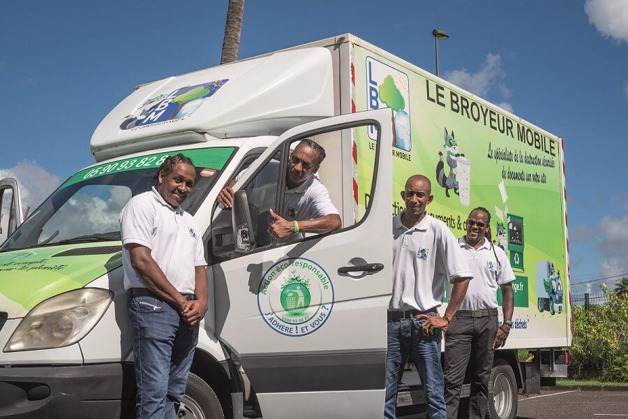 Le Broyeur Mobile, solution tout-en-1 de collecte et traitement des déchets