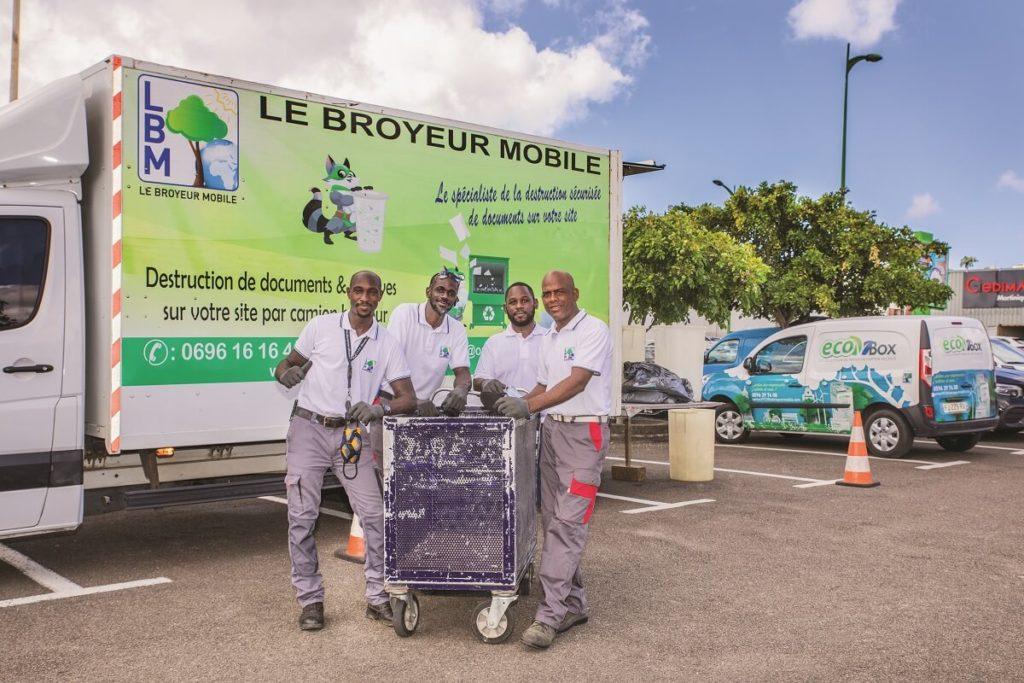 Equipe Le Broyeur Mobile - Martinique