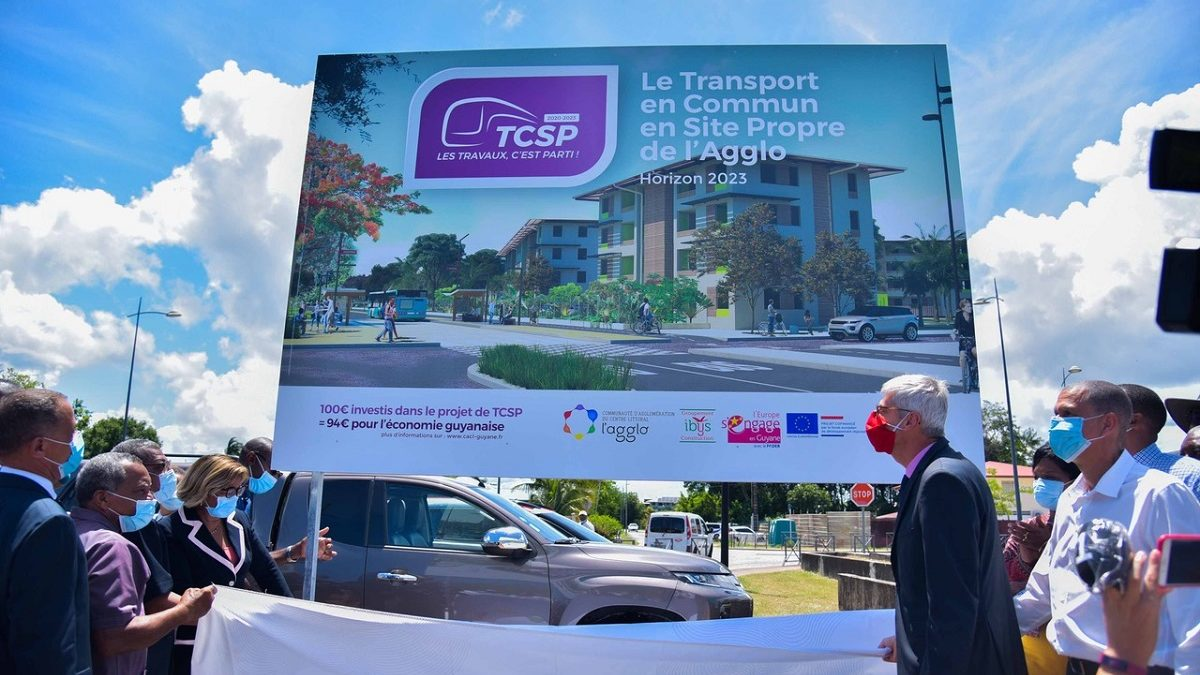 Cap sur 2023 pour le TCSP de la CACL en Guyane