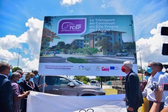 Projet TCSP de la CACL - Guyane