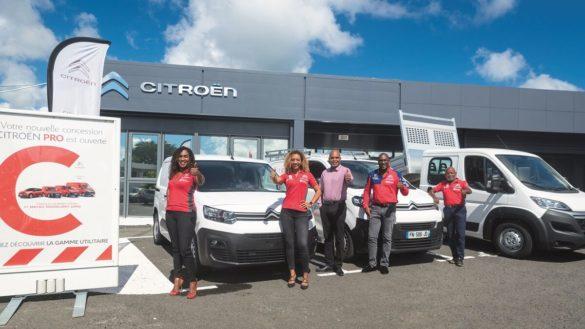 Equipe Cellule entreprise - Citroen Guadeloupe