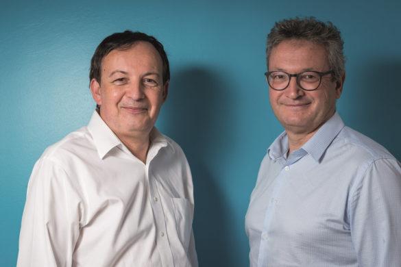 Benoit Leduc et Laurent Noireau - Credit Agricole Mutuel Guadeloupe