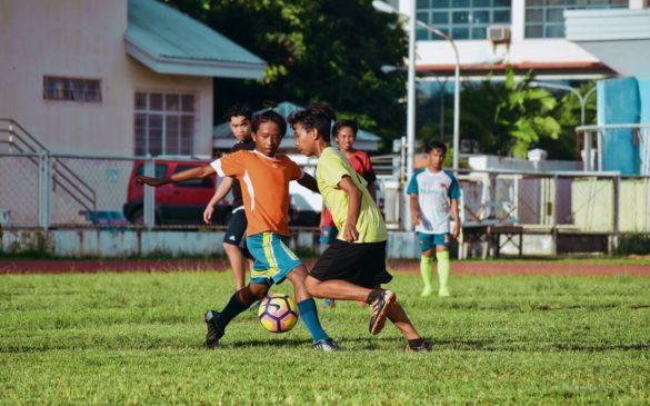 Activité football proposée par YANA Loisirs