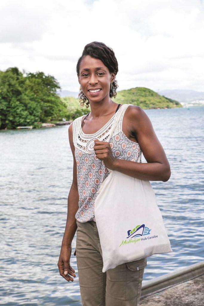 Kelli Mamadou, cheffe du nouveau service DDI - Grand Port de Martinique