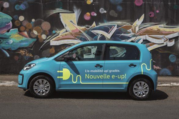 Volkswagen électrique e-up !