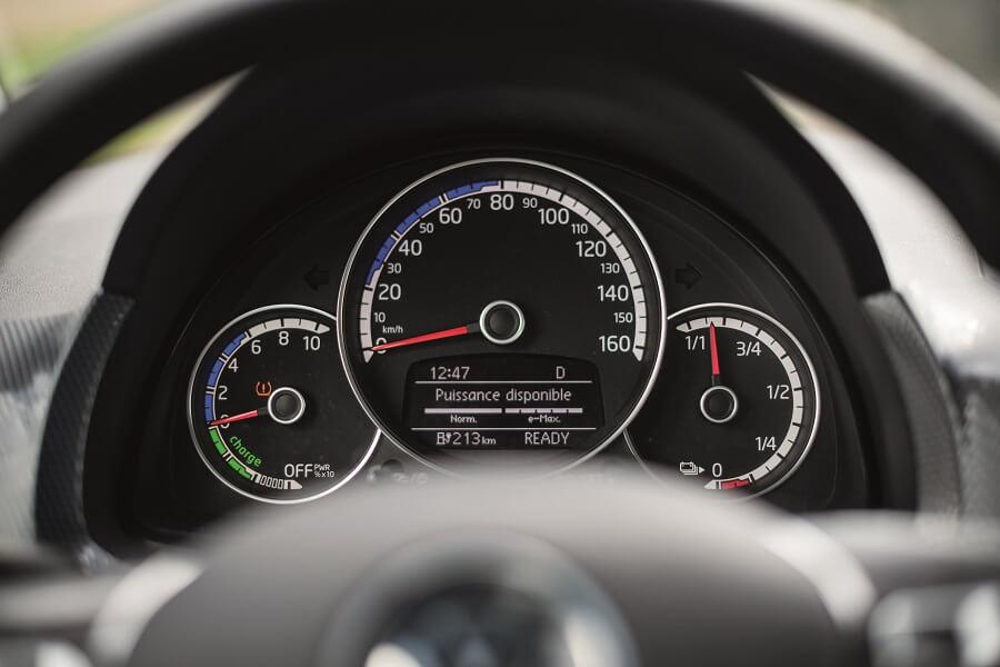 Tableau de bord - e-up! Volkswagen