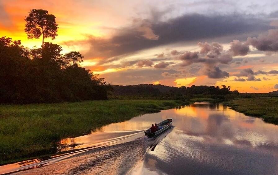 Le Morpho, un écolodge flottant pour découvrir les Marais de Kaw