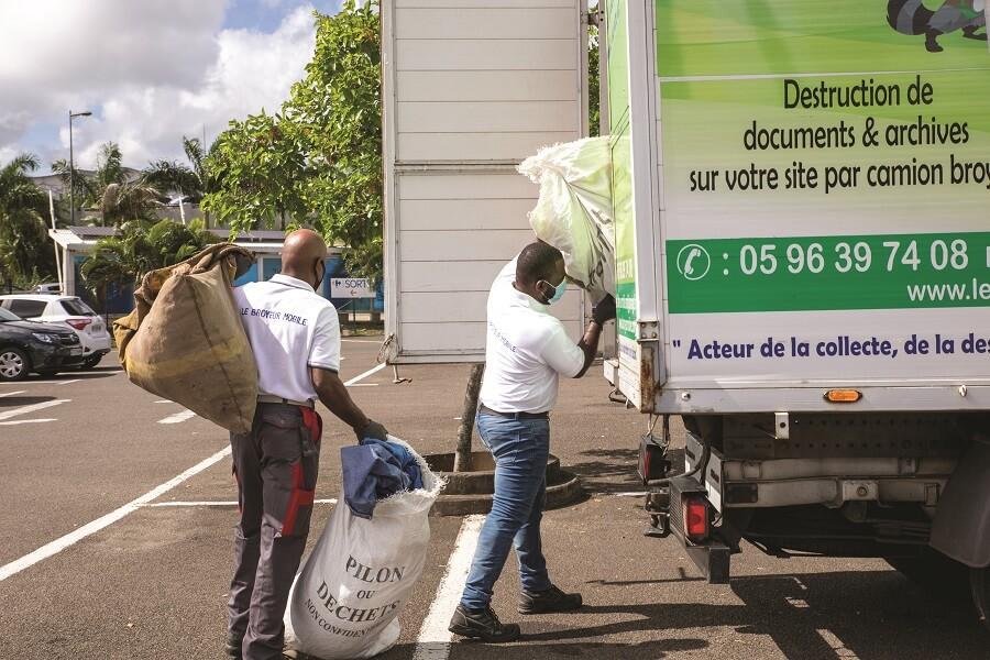 Traitement déchets entreprise - Le Broyeur Mobile - Martinique, Guadeloupe