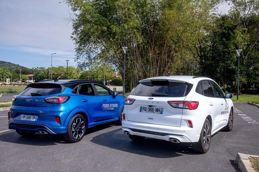SUV Ford Puma et Ford Kuga
