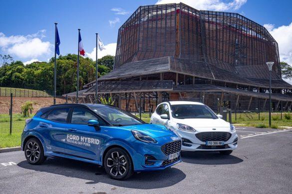 SUV Ford Puma et Kuga - concession NCCIE - Cayenne