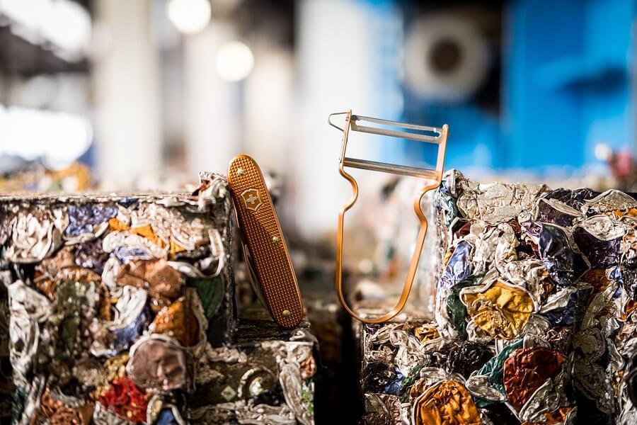 Capsules Nespresso recyclées en objets Victorinox