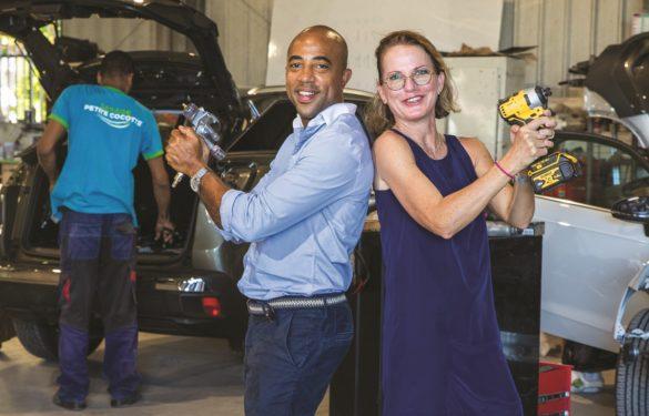 Loic Lechallier et Dorothée de Reynal - Réseau Entreprendre Martinique