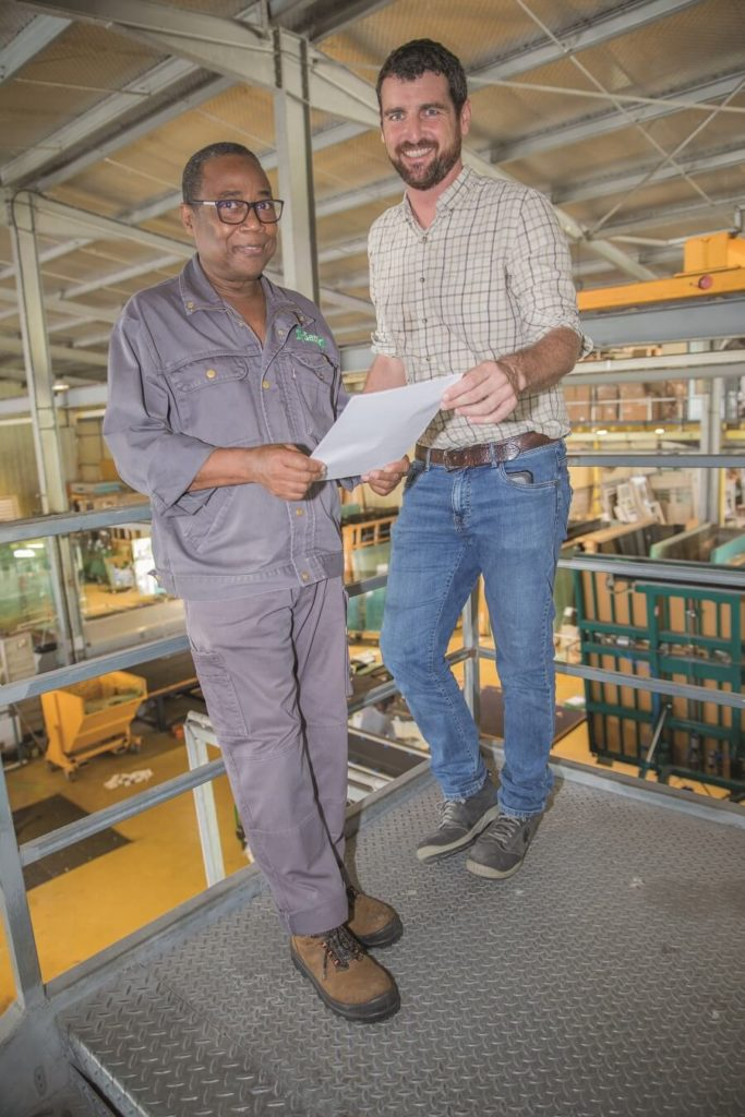 Francis Piazzon - responsable producation Samir Industrie - Martinique