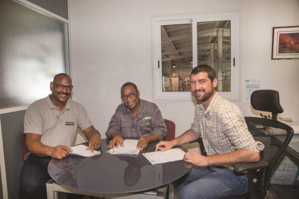 Equipe Samir Industrie Martinique