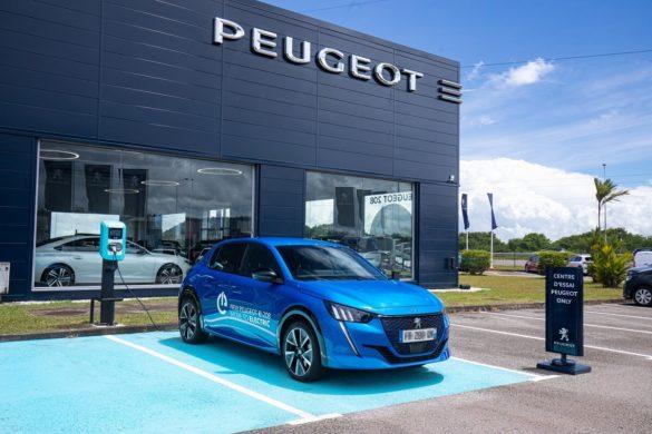 Véhicule Peugeot électrique - Somasco Guyane