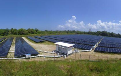 Installation photovoltaique financée par Ecofip Réunion - Savane des Pères