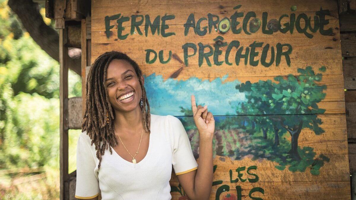 Ayanna Mouflet, d'Ulm à la  permaculture en Martinique